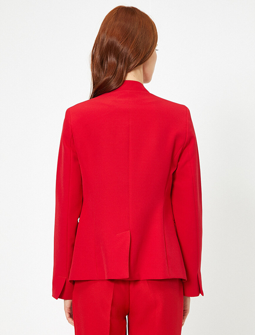 Pocket Detailed Jacket