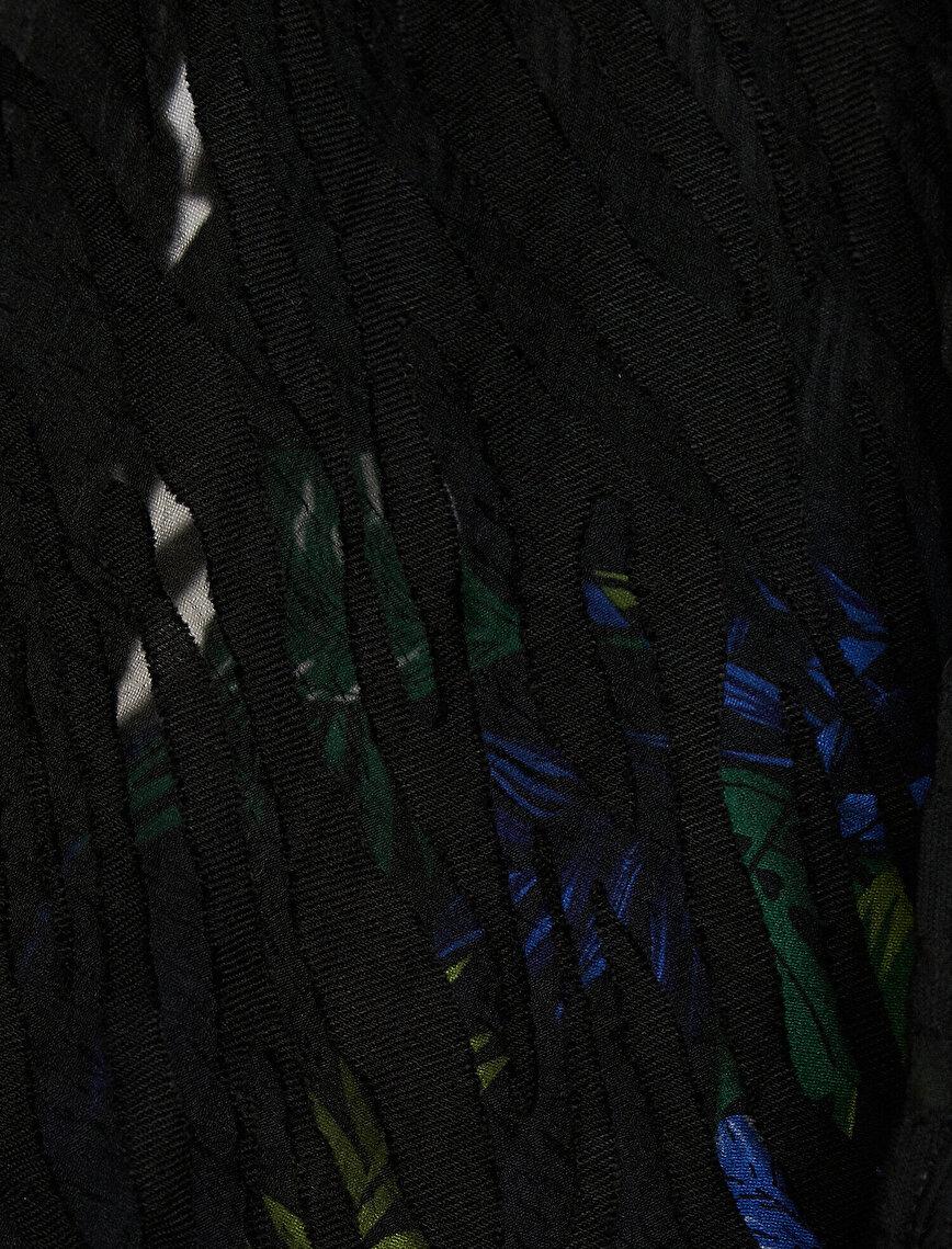 Zebra Desenli Ceket