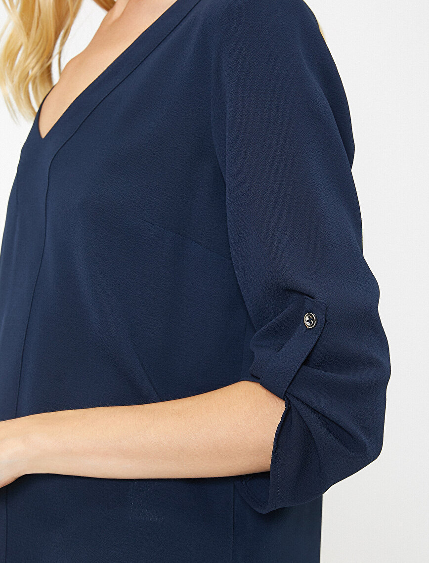 Kol Detaylı Bluz
