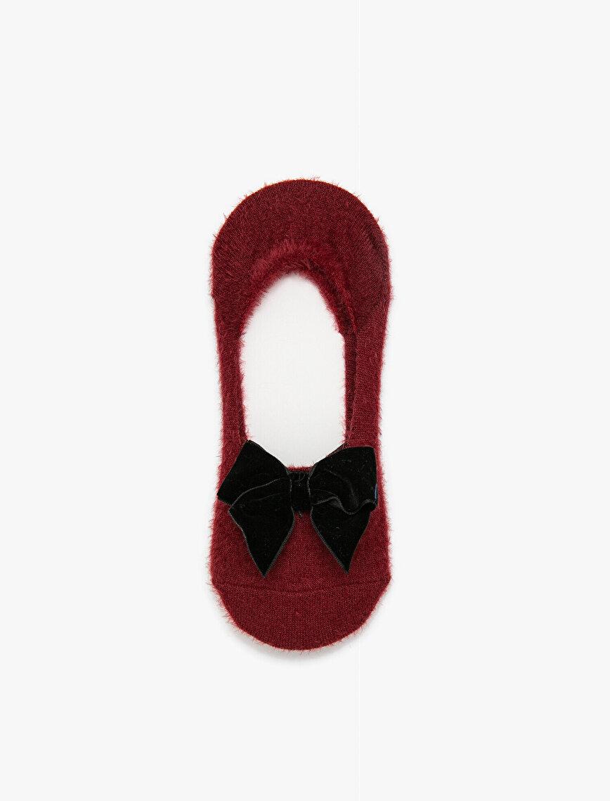 Fiyonk Detaylı Kadın Çorap