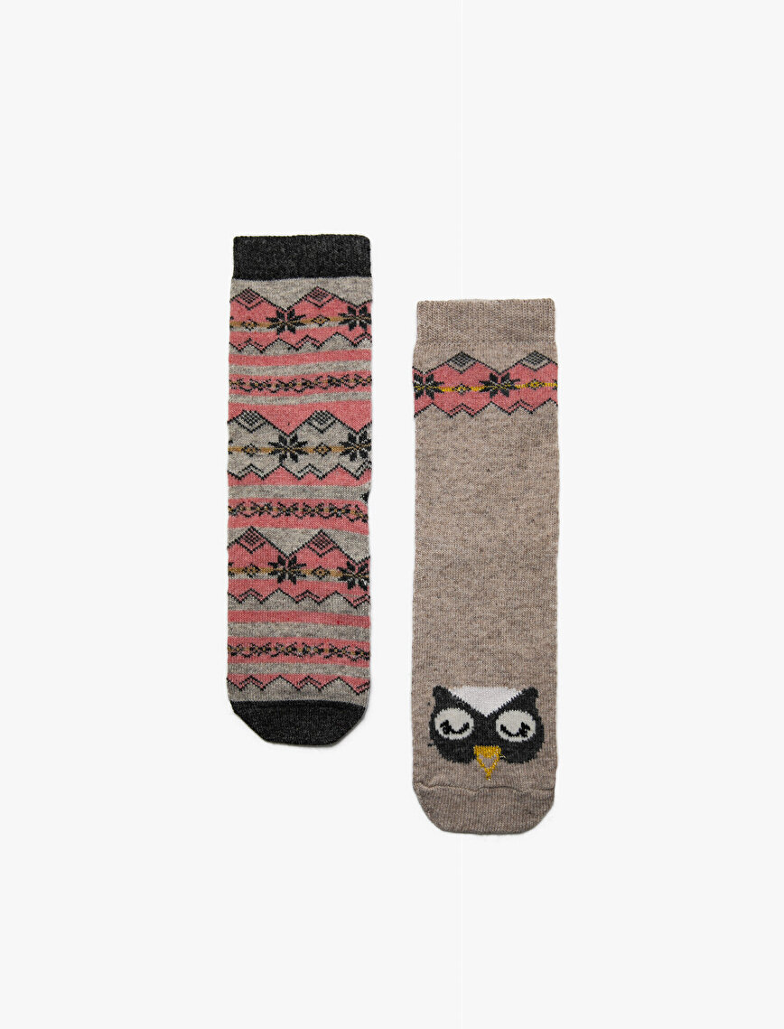2 Pack Woman Socks