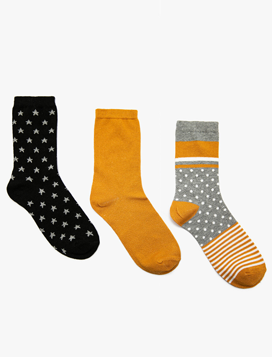 3 Packs Woman Socks