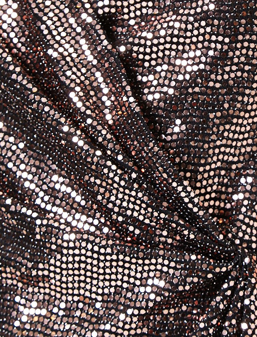 Pul Detaylı Elbise