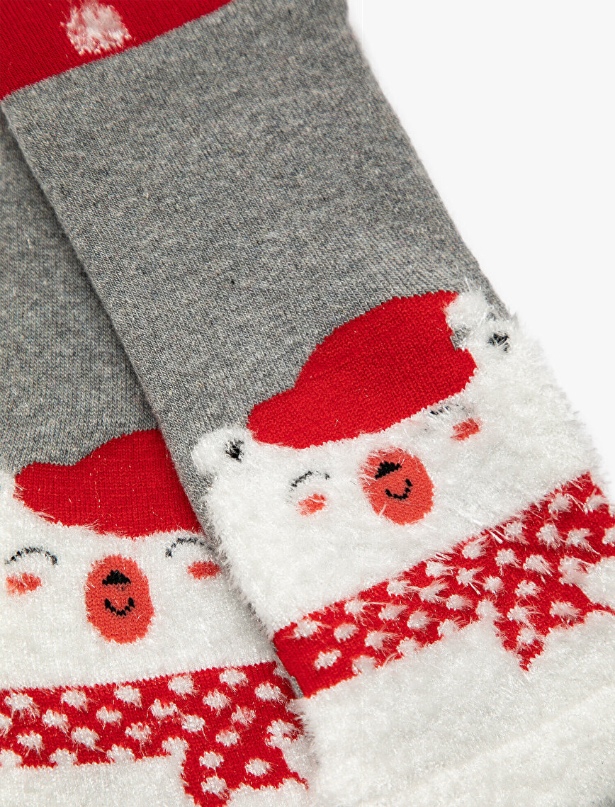 Woman Christmas Detailed Socks
