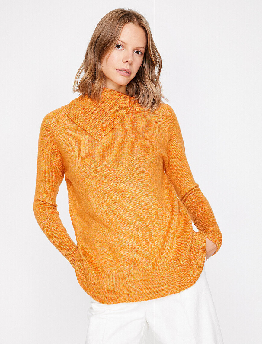 Button Detailed Jumper