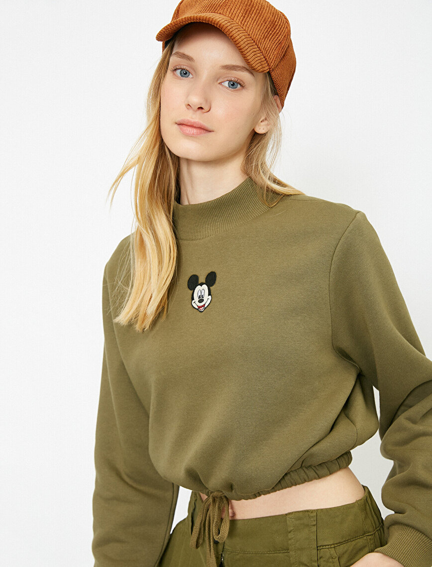 Mickey Mouse Licensed Printed Sweatshirt