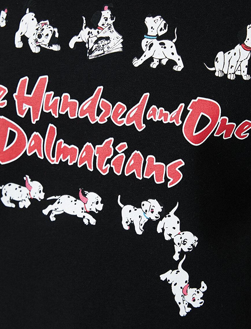 Disney Lisanslı Baskılı Sweatshirt