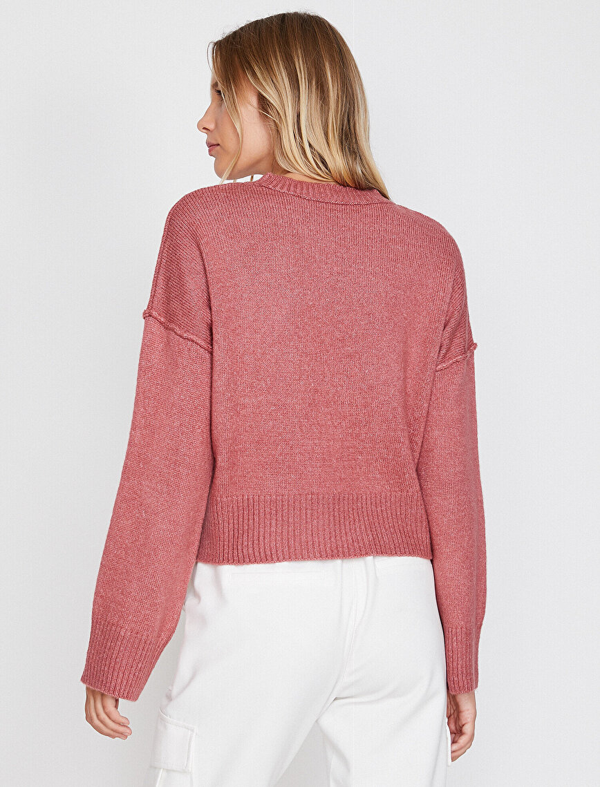 Button Detaied Jumper