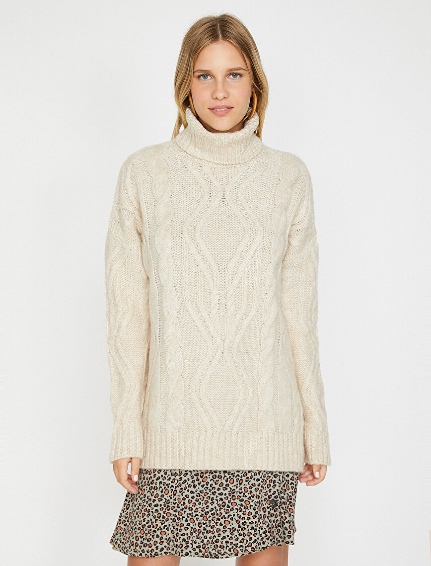 Turtle Neck Tunic