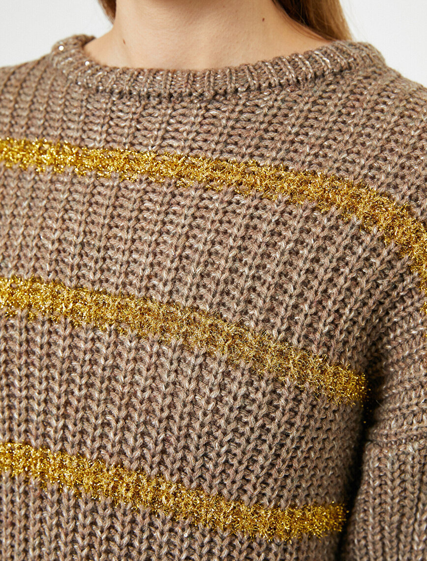 Back Detailed Jumper