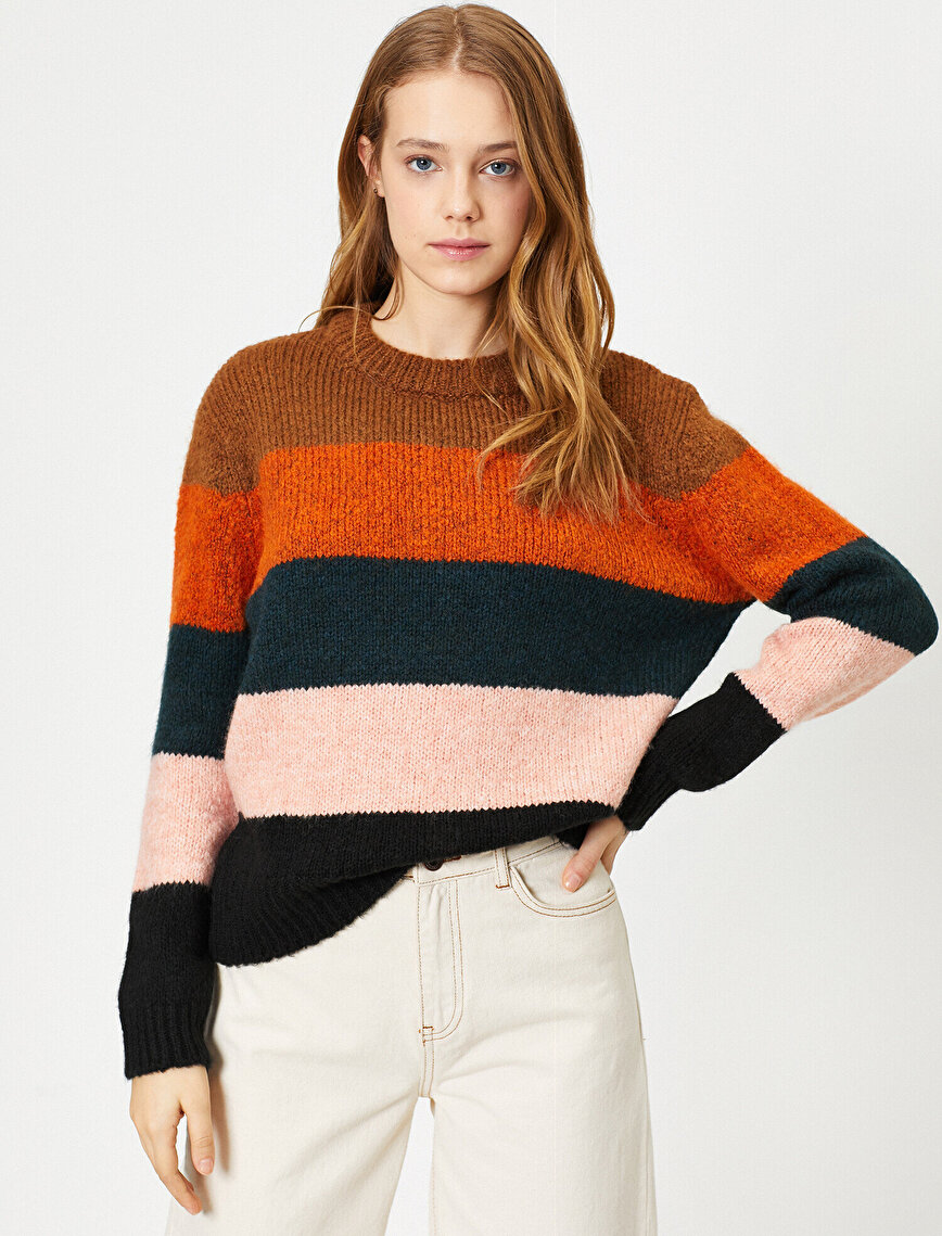 Color Blook Jumper
