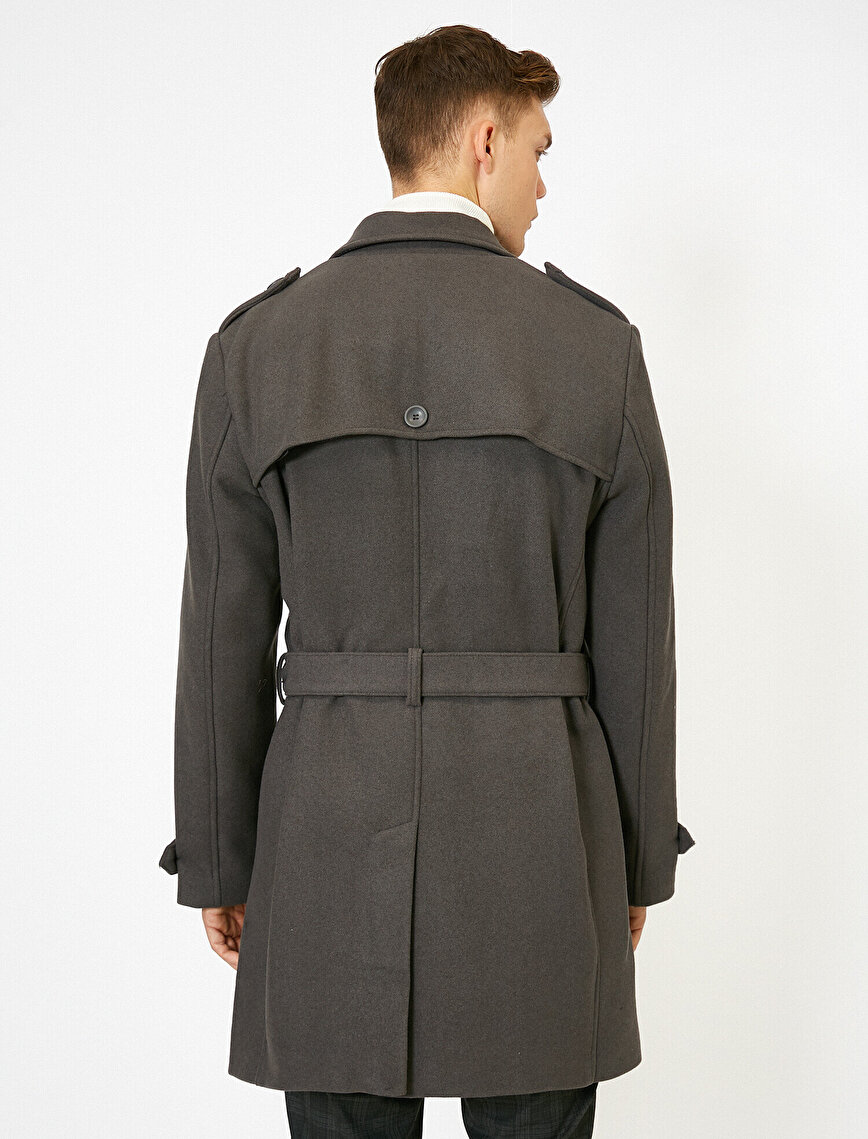 Belt Detailed Coat