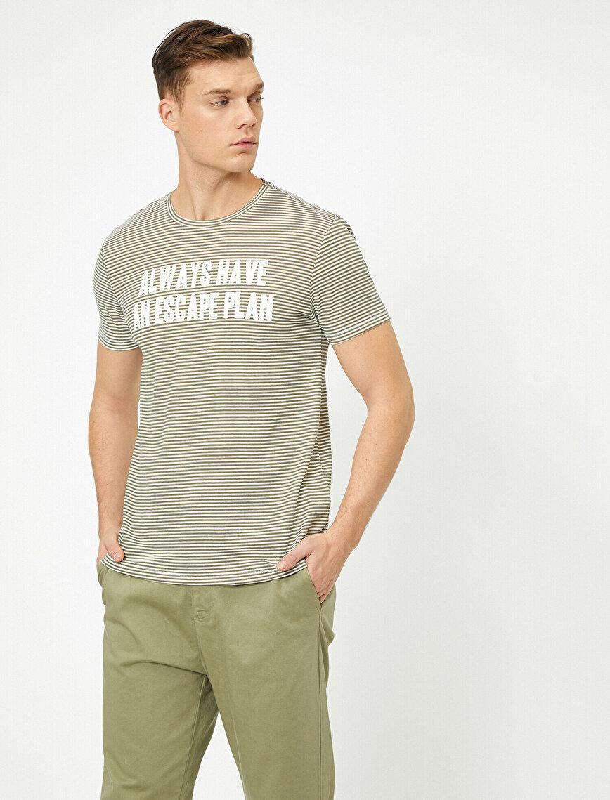 Yazılı Baskılı T-Shirt