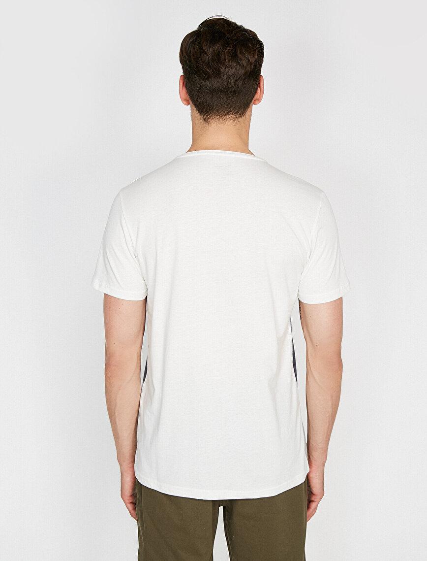 Renk Bloklu T-Shirt