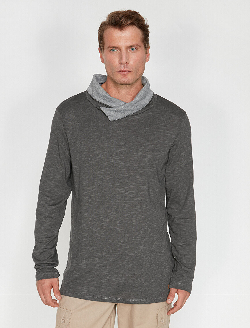 Uzun Kollu T-Shirt