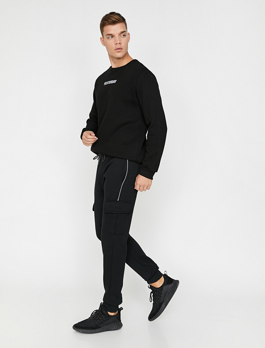 Pocket Detailed Jogging Pants