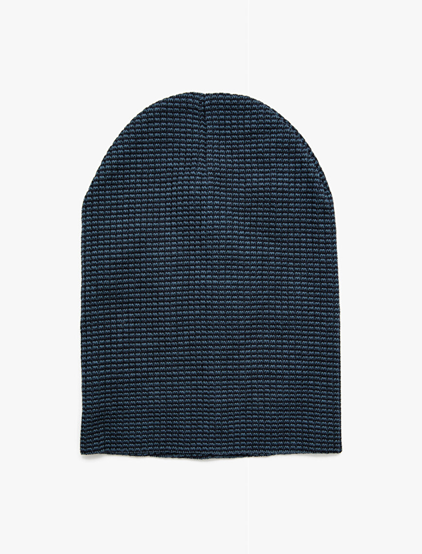 Patterned Beanie