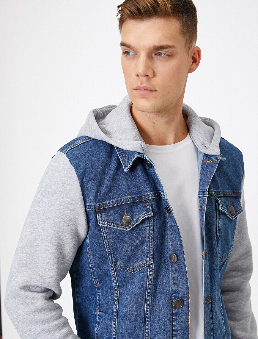 Hooded Jean Jacket