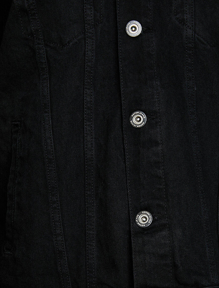 Faur Fux Detailed Jean Coat