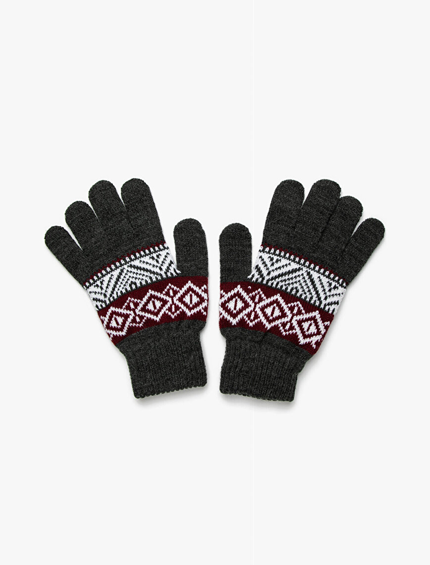 Etnic Patterned Gloves