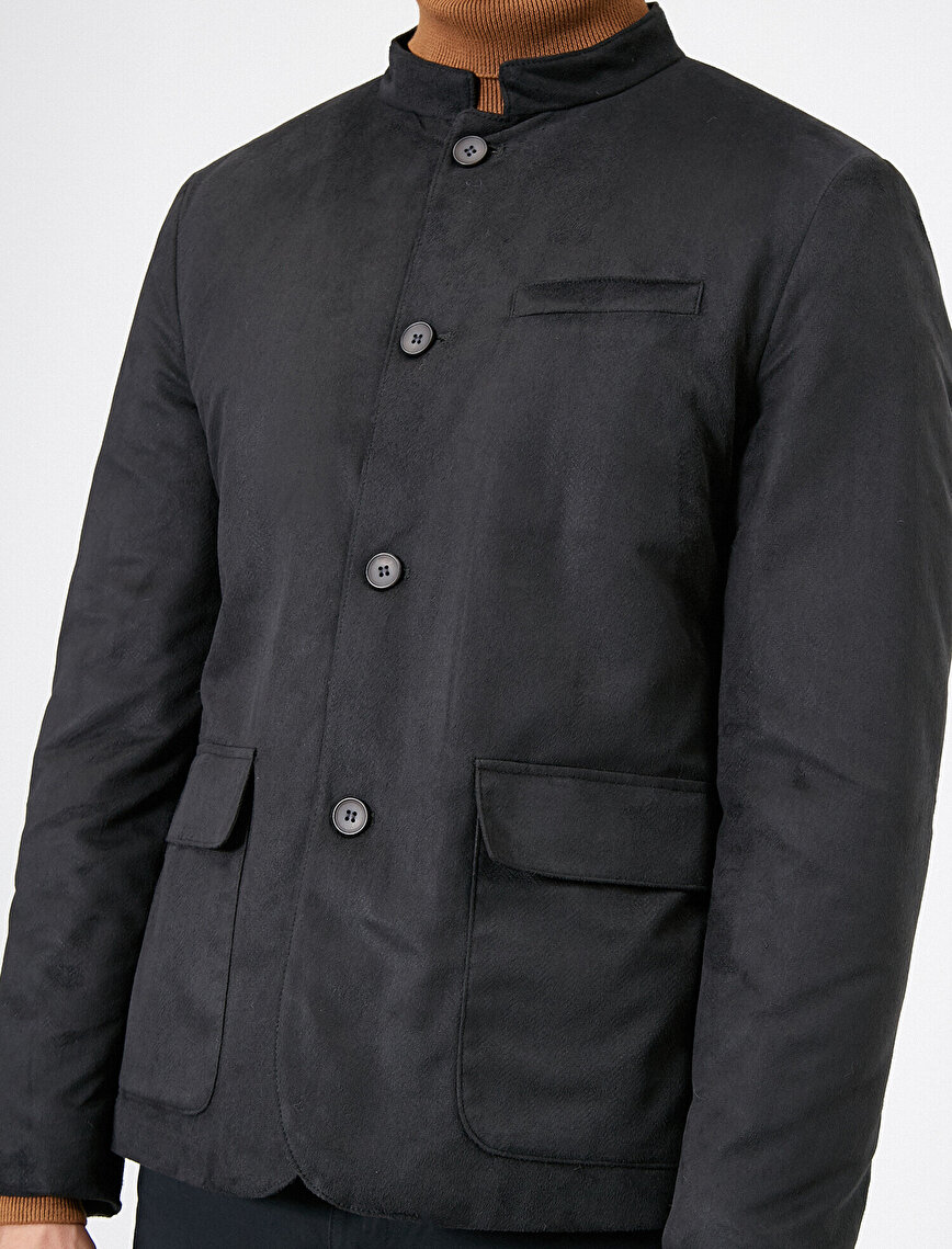 Suade Look Jacket