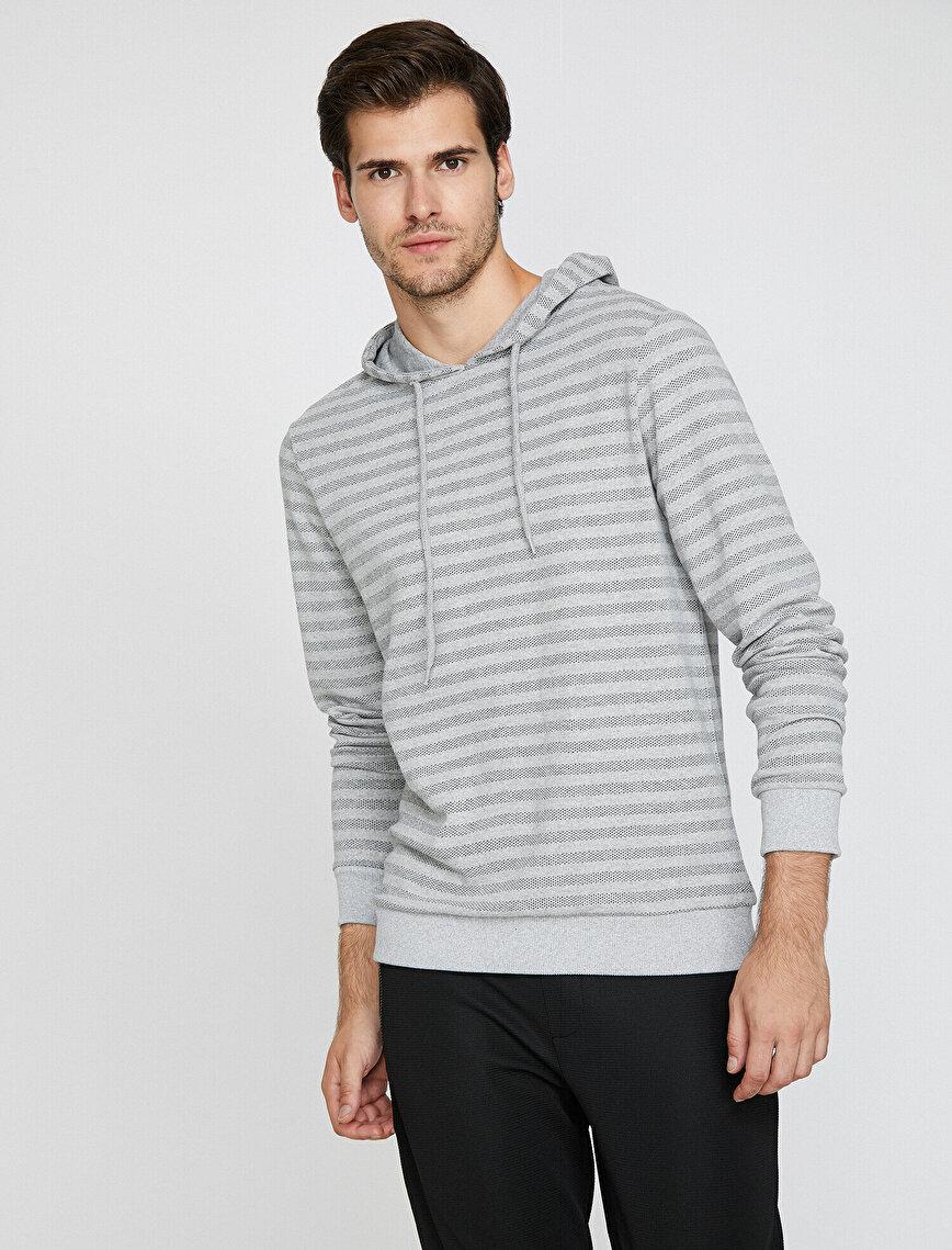 Kapüşonlu Sweatshirt