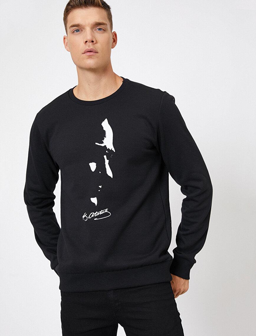 Atatürk Printed Sweatshirt