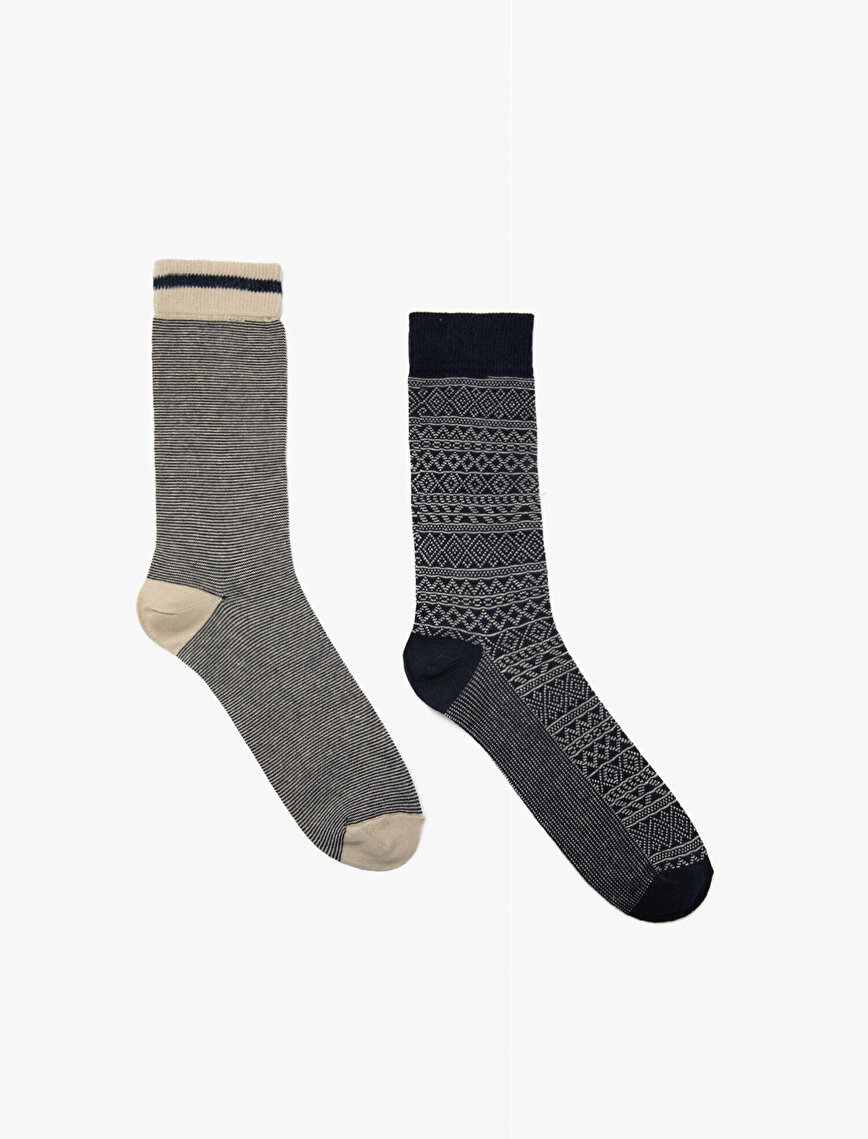 2 Packs Man Socks