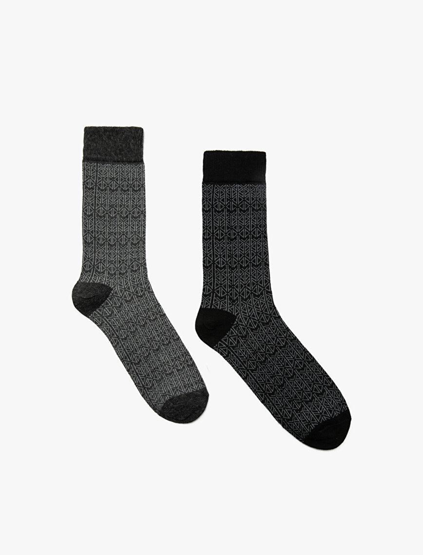 2 Pack Man Socks