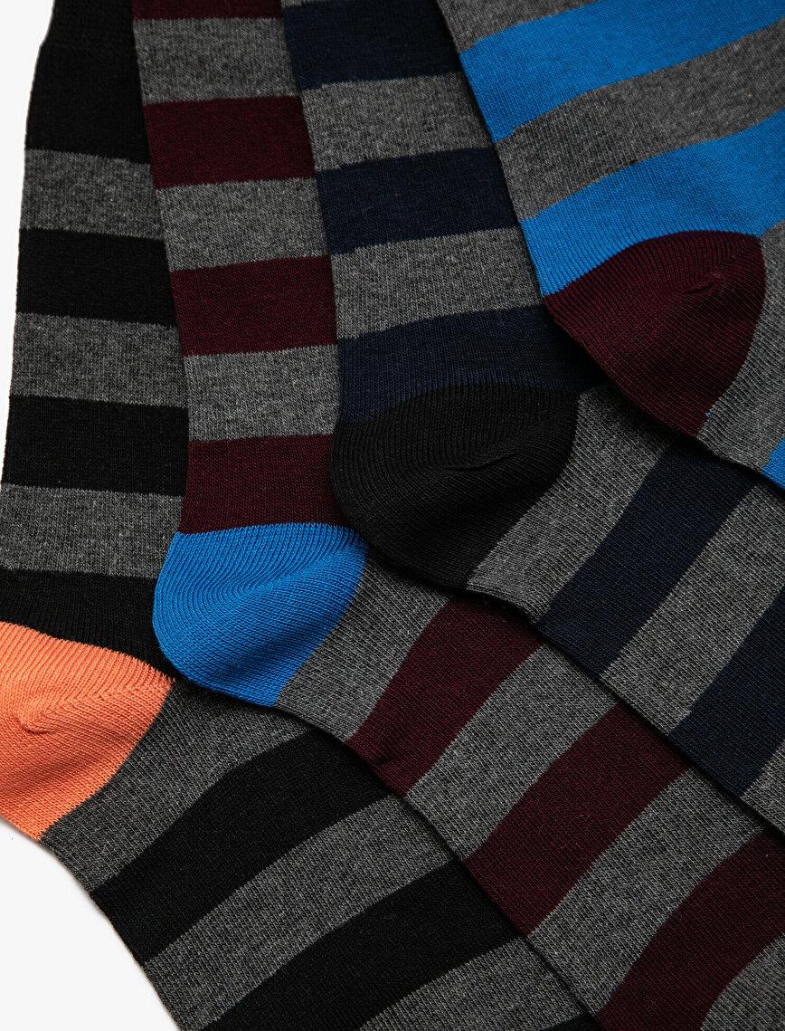 4'lü Erkek Çorap