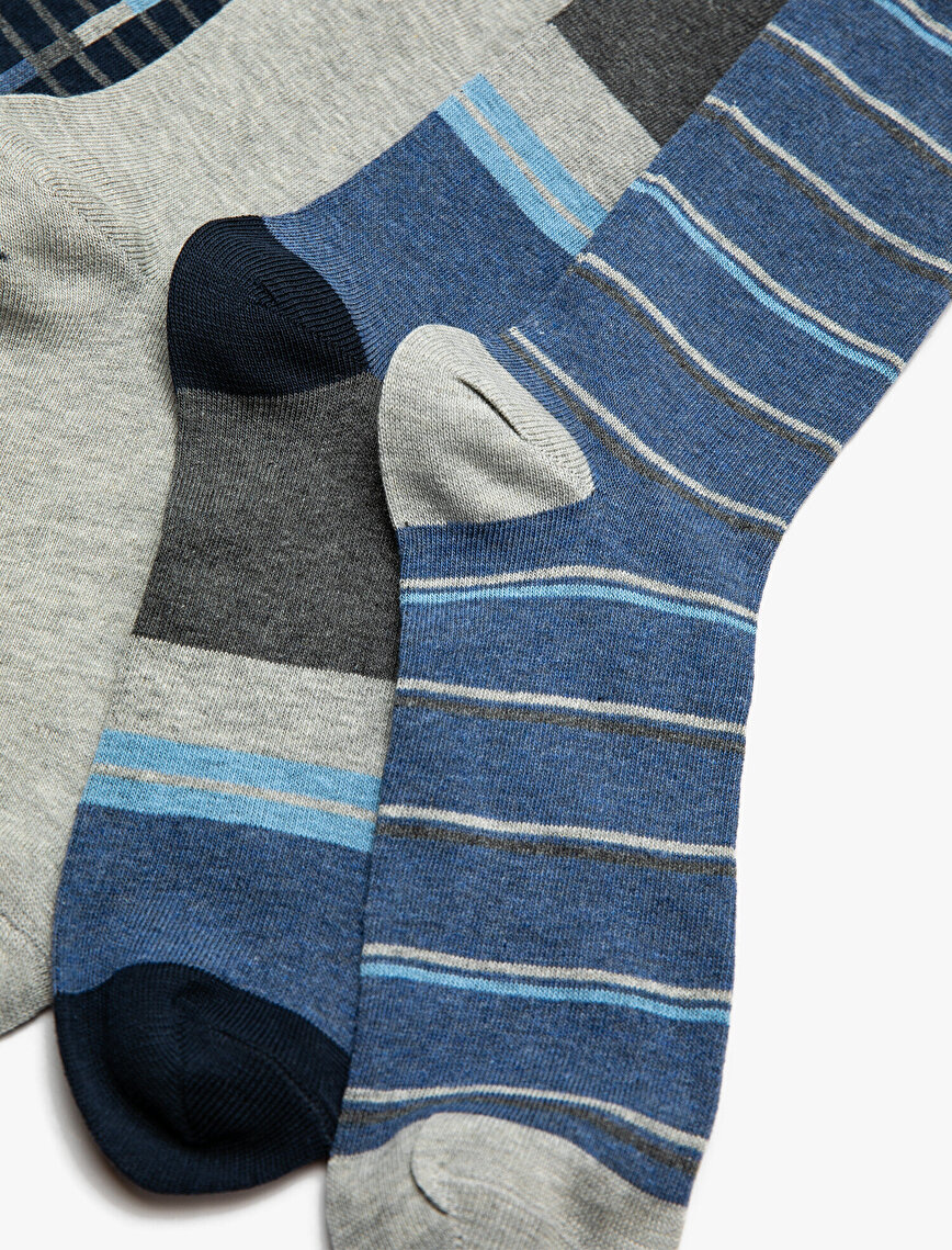 4 Pack Man Socks