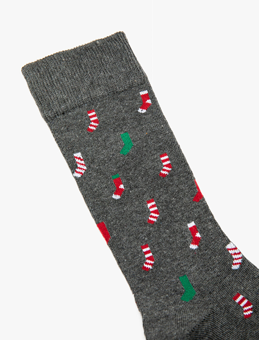 Man New Year Socks