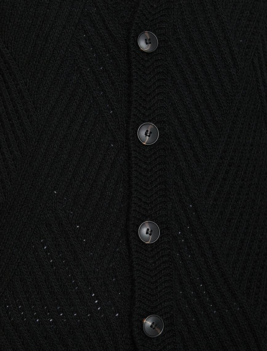 Button Detailed Cardıgan