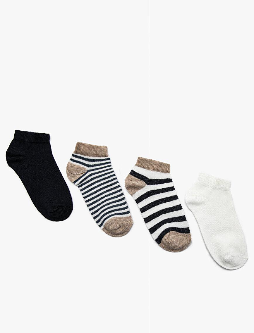 4'lü Erkek Çocuk Çorap