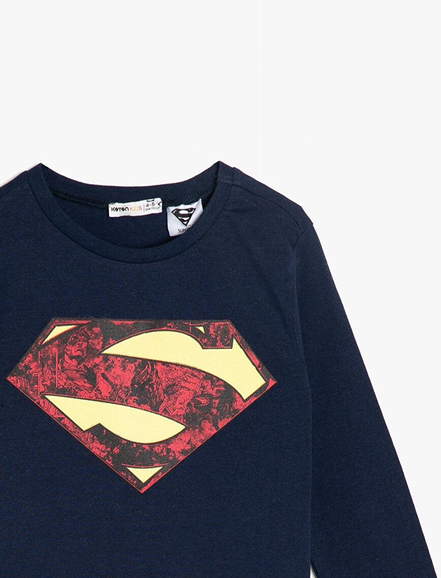 Superman Lisanslı Baskılı T-Shirt
