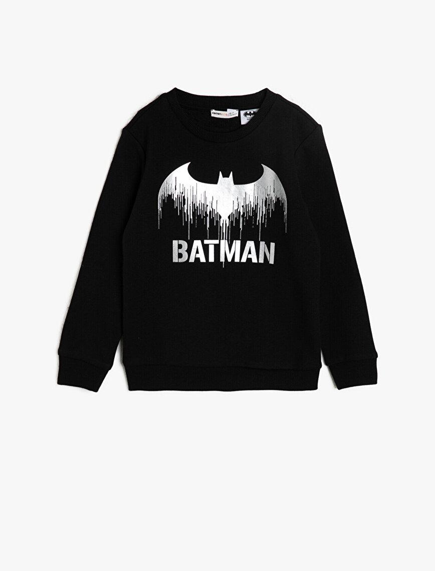 Batman Licensed Printed Sweatshirt