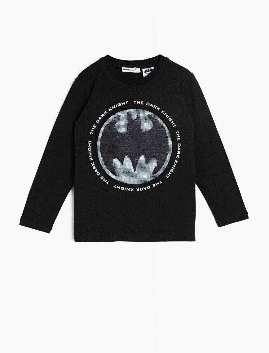 Batman Baskılı Lisanslı T-Shirt