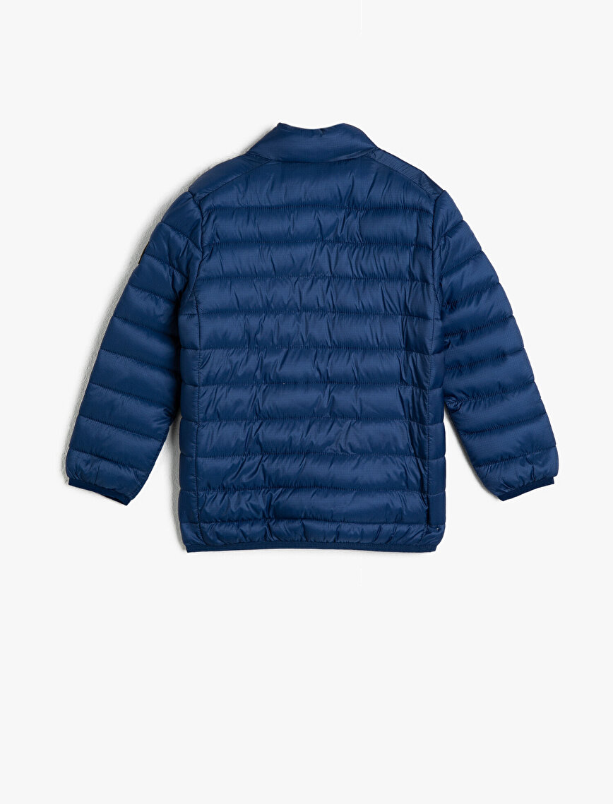 Pocket Detailed Puffer Coat
