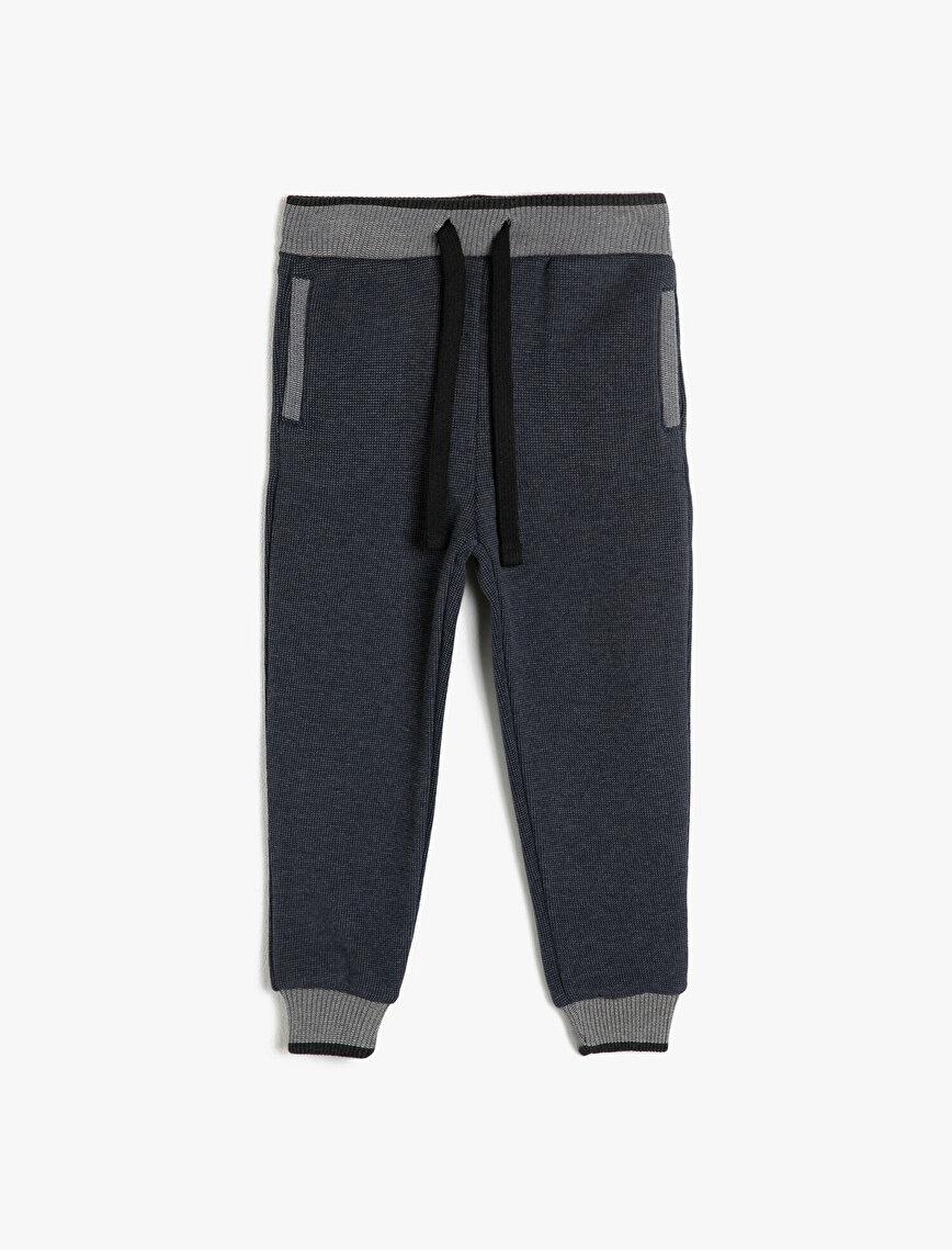 Tie Waist Jogging Pants