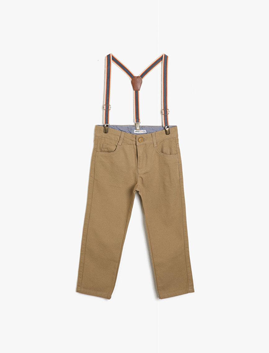 Belt Detailed Pantolon