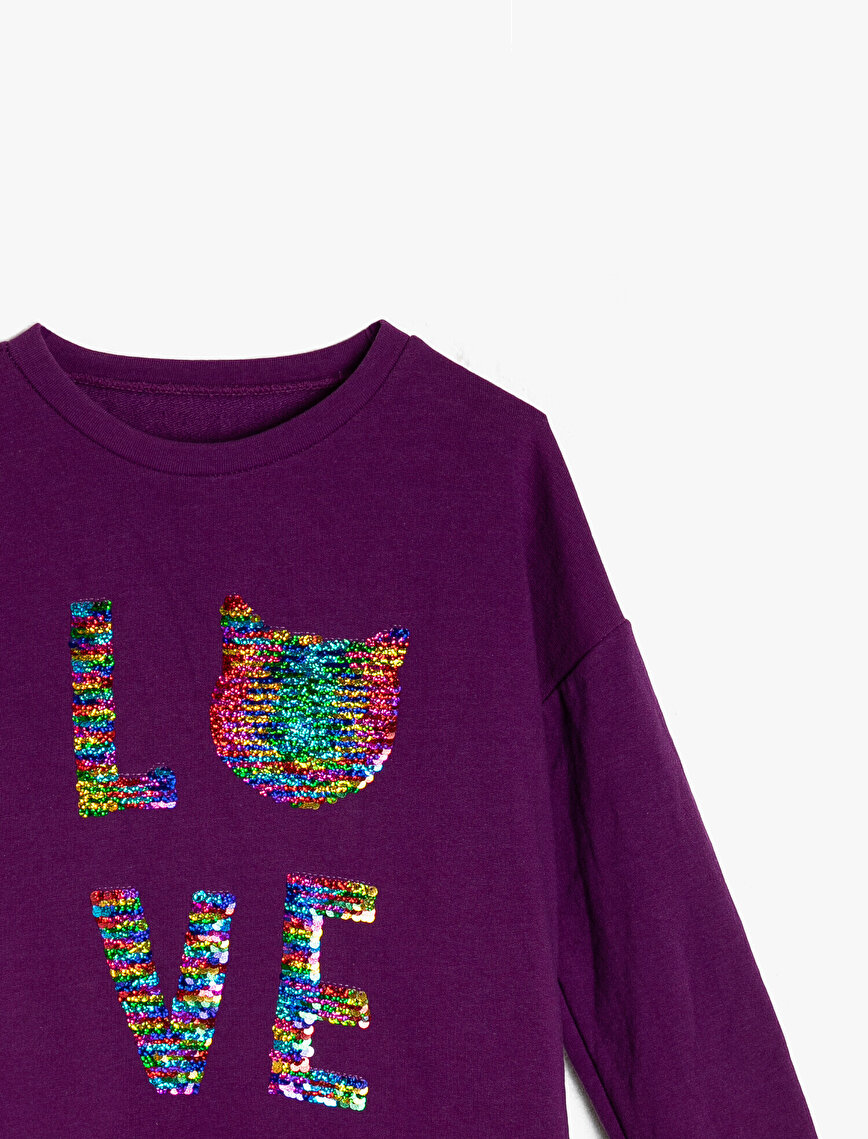 Koton Kids Love Pullu T-Shirt