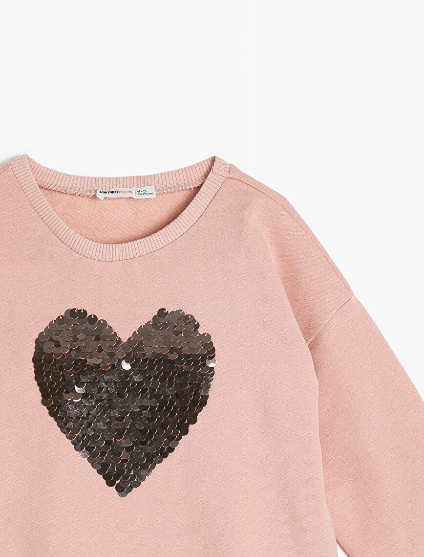 Sequin Detailed Sweatshirt