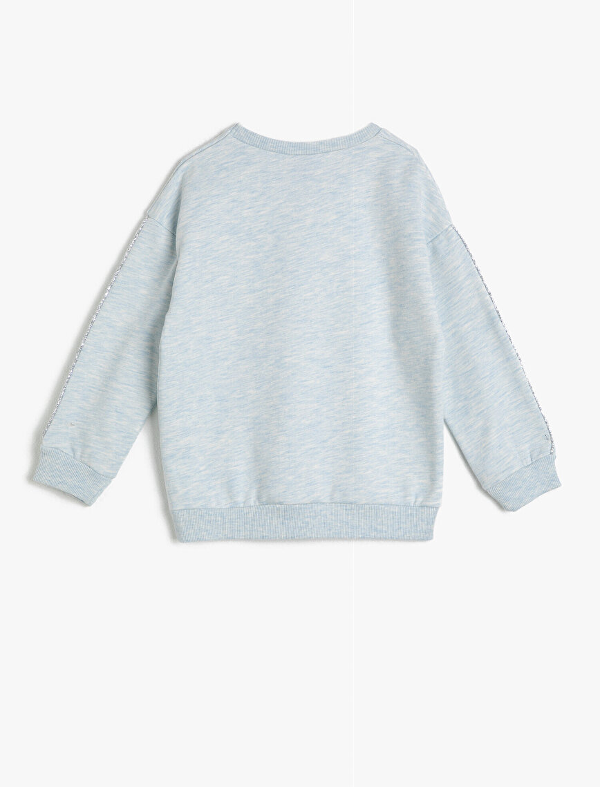 Frozen Lisanslı Baskılı Sweatshirt