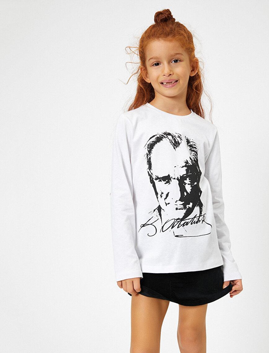 Atatürk Baskılı T-Shirt