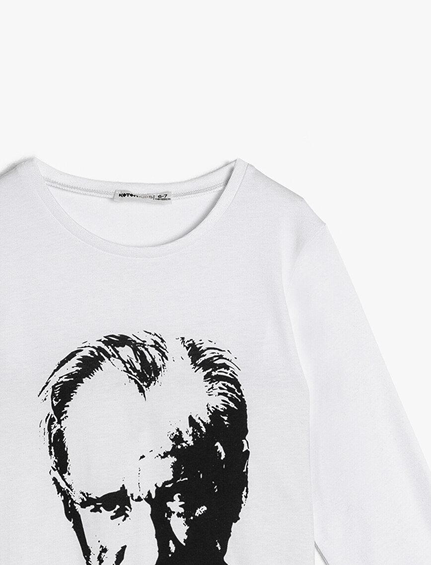 Atatürk Printed T-Shirt