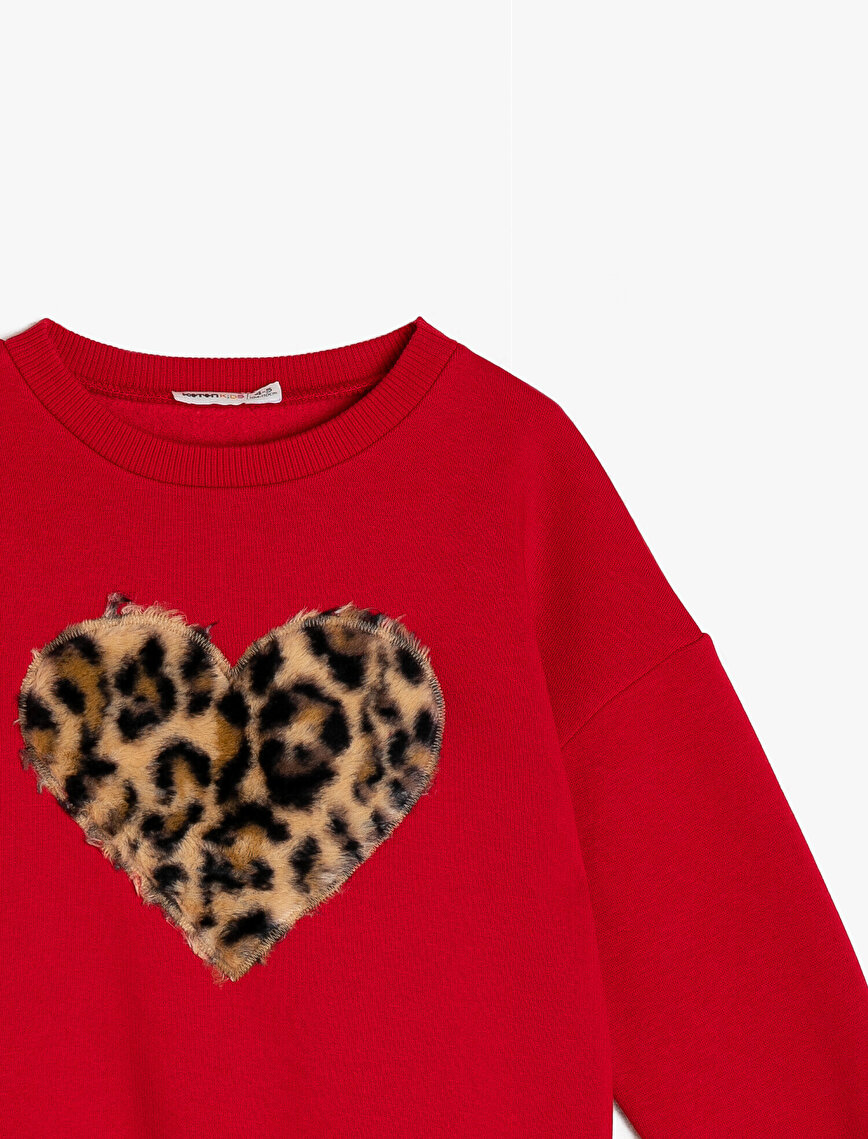 Leopard Detailed Sweatshirt