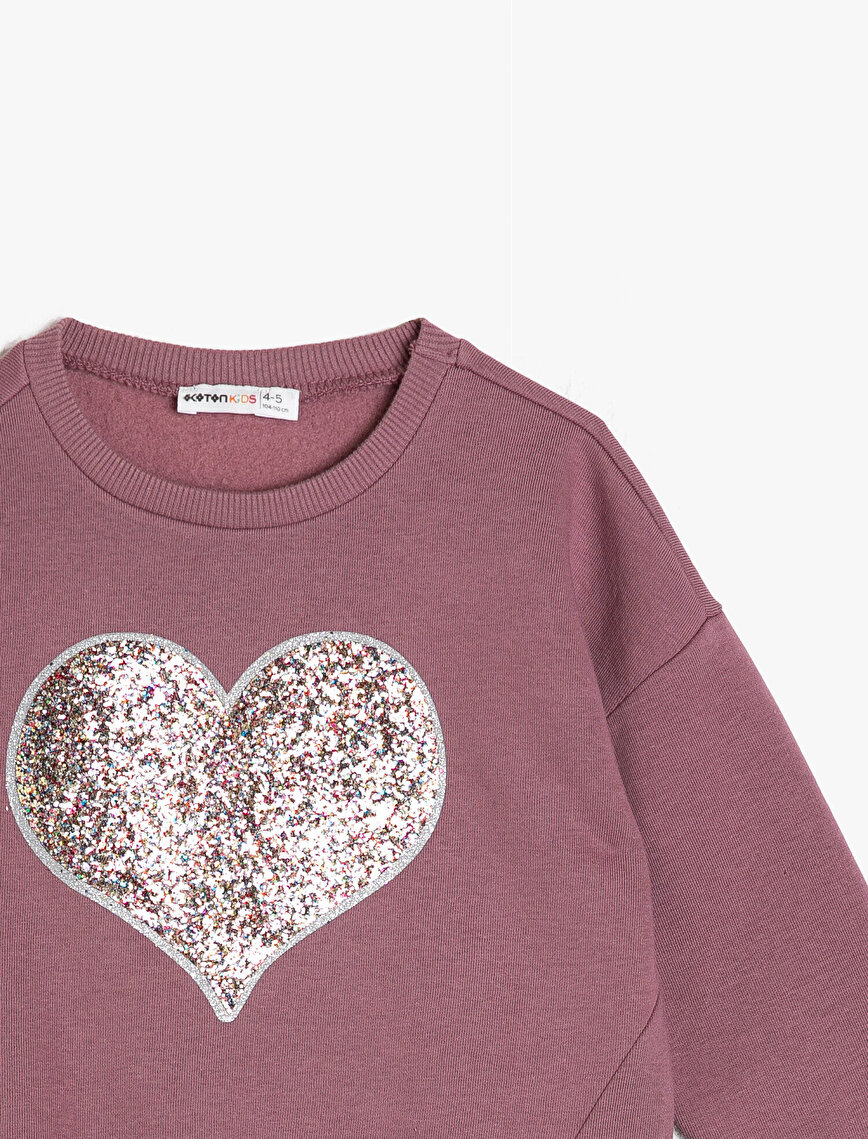 Shimmer Detailed Sweatshirt