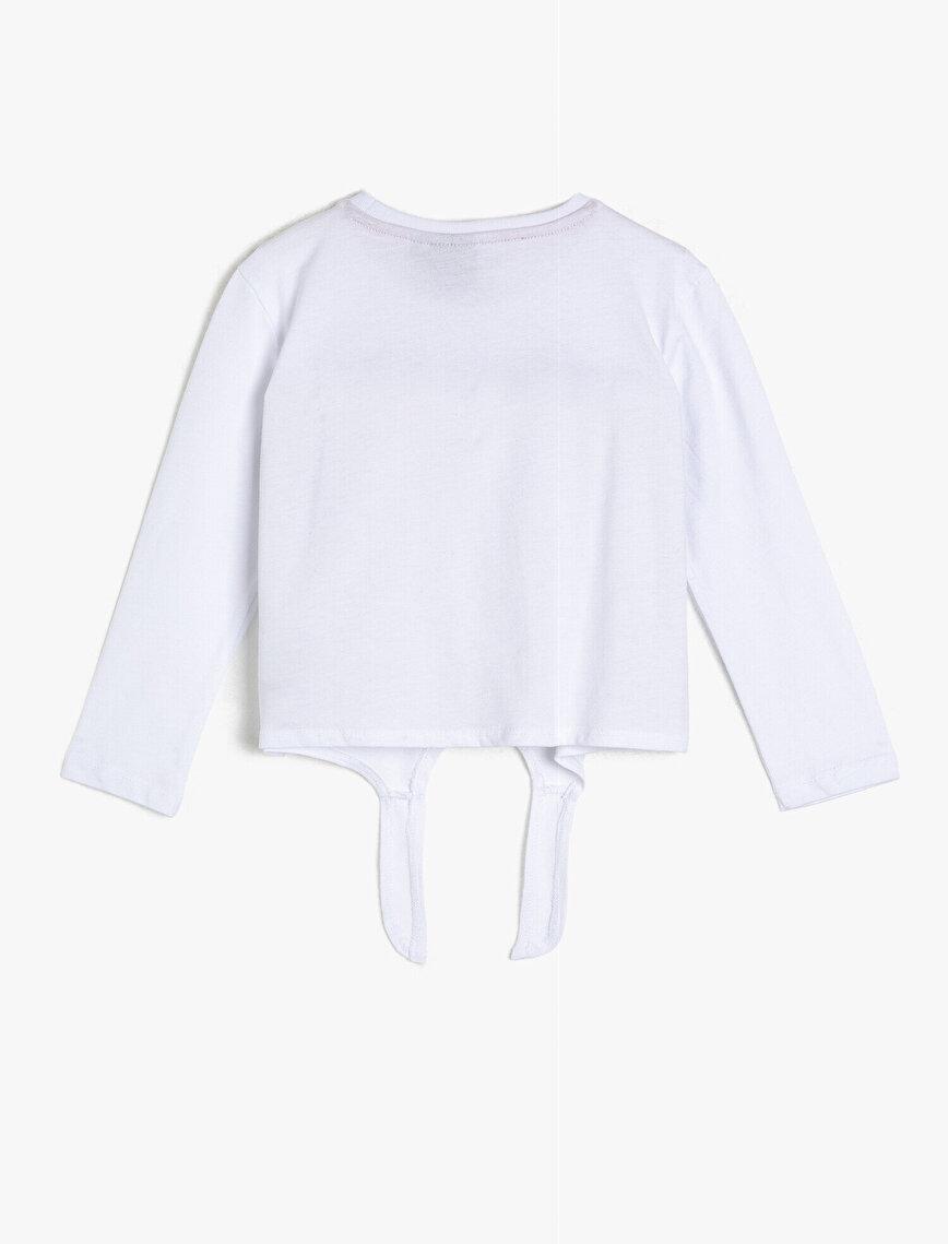 Minnie By Koton Pul Detaylı T-Shirt