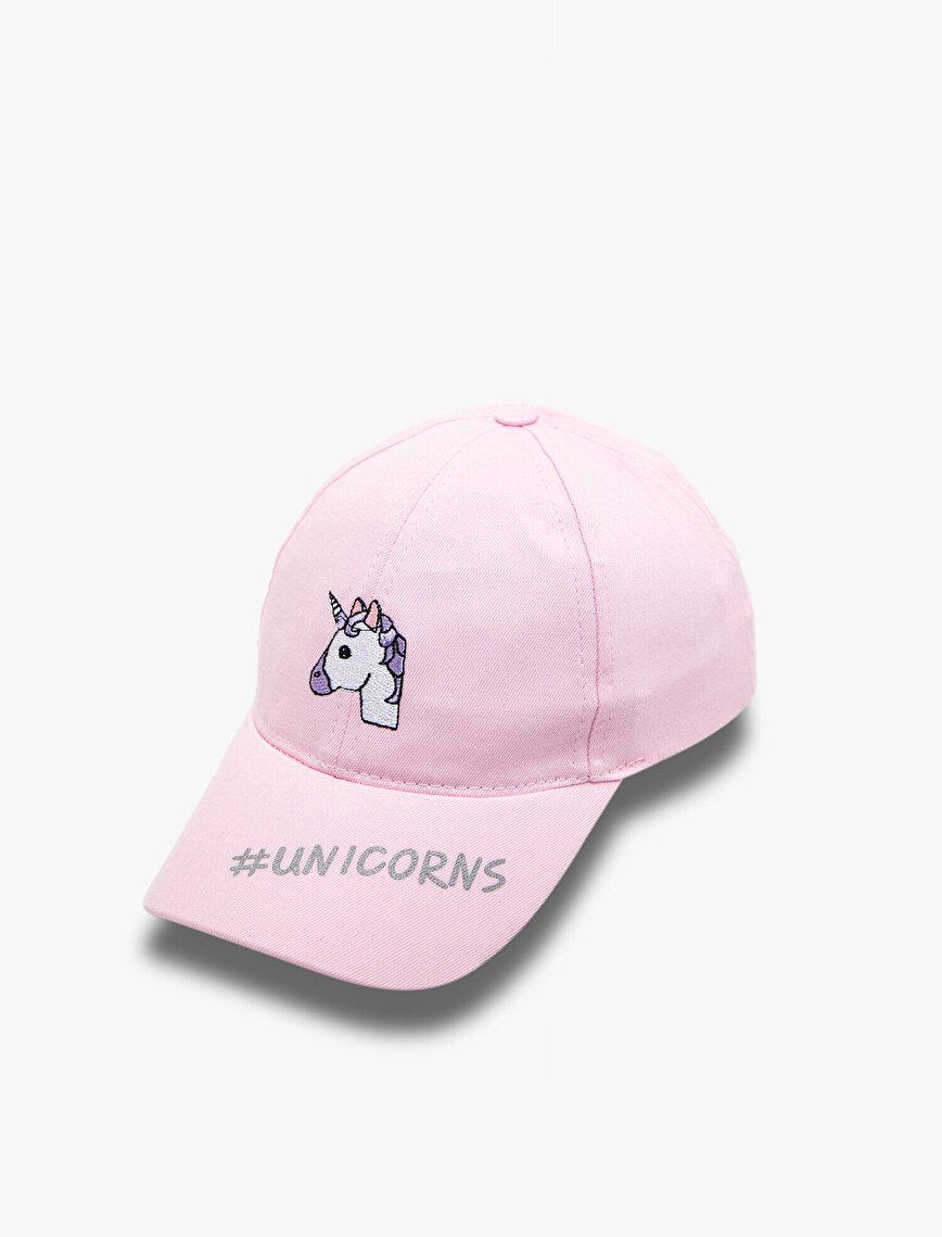 işlemeli Şapka