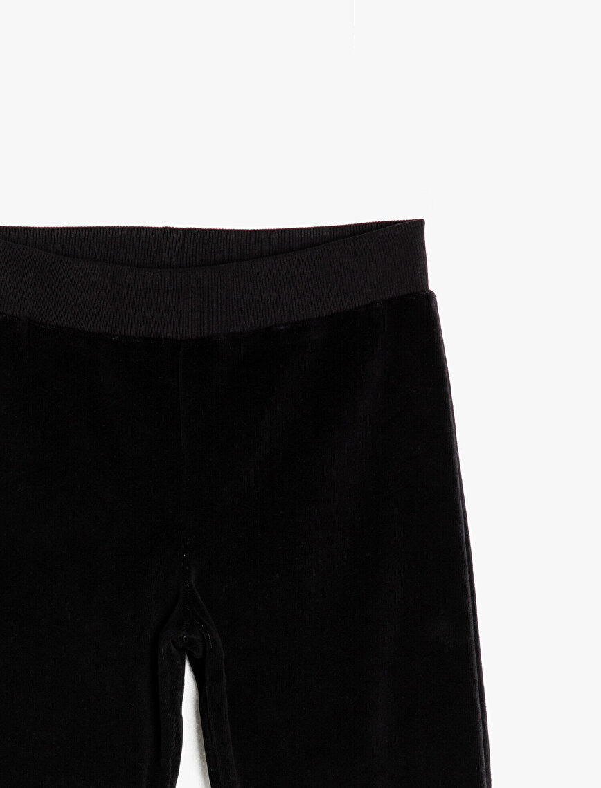 Medium Rise Jogging Pants